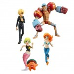 (T3E2) ONE PIECE HALF AGE CHARACTERS VOL.3 SET