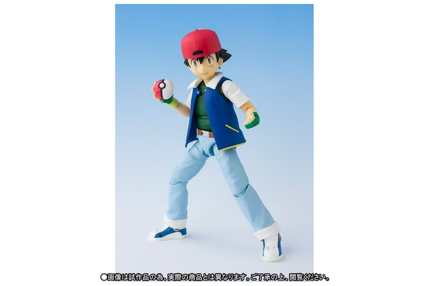 SH S.H. Figuarts Pokemon Set Team rocket & Ash Ketchum ...