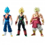 SHODO Dragon Ball Vol.5 set of SSGSS Vegetto Broly & Bardock CANDY TOY Bandai (pack of 3)