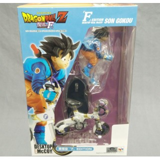 DESKTOP REAL McCOY Dragon Ball Z Son Goku 02 F EDITION Megahouse