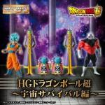 HG DRAGON BALL SUPER Space Survival Hen Bandai premium
