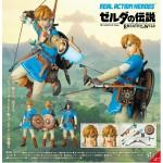 Real Action Heroes No.764 RAH The Legend of Zelda Link (Breath of the Wild Ver.) Medicom Toy