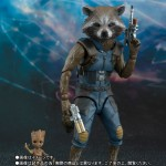 SH S.H. Figuarts Rocket & Baby Groot Guardians of the Galaxy Vol. 2 Bandai