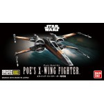 Star Wars Model Kit Poe's X-Wing Fighter Vehicle Model 003 No scale Bandai