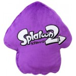 Splatoon 2 Cushion Squid (Neon Purple) San-ei Boeki