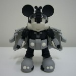 Transformers Disney Label Mickey Mouse Trailer Monochrome Takara Tomy