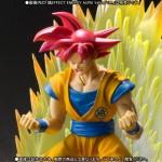 SH S.H. Figuarts Dragon Ball Z DBZ : Kami to Kami Son Goku SSJ God Bandai Premium
