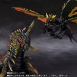 S.H. MonsterArts Special Color ver. Gojira vs Mothra Battra Larvae Bandai Premium