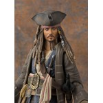 SH S.H. Figuarts Captain Jack Sparrow Pirates of the Caribbean Dead men tell no tales Bandai
