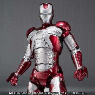 SH S.H. Figuarts Iron Man 2 Iron Man Mark 5 Bandai Premium
