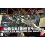 HGUC 1/144 Zaku I Sniper Type (Yonem Kirks Model) Mobile Suit Gundam Unicorn Bandai