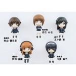Girls und Panzer Ankou Team 5 Figure Set Panzer Jacket Ver. Pair Dot