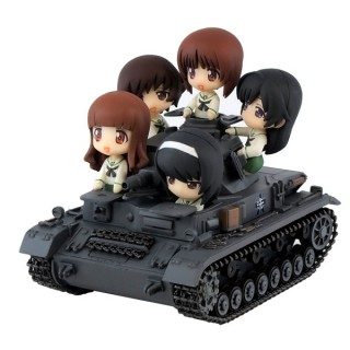 GIRLS and PANZER Tank IV Ausf. D Ending Ver. Pair Dot