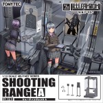 LittleArmory LD010 1/12 Shooting Range A Plastic Model Takara Tomy