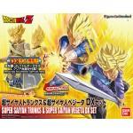 Figure-rise Standard Dragon Ball Z Super Saiyan Trunks & Super Saiyan Vegeta DX Set Model Kit Bandai