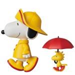 Ultra Detail Figure No.377 UDF PEANUTS Series 7 RAIN COAT SNOOPY & WOODSTOCK Medicom Toy