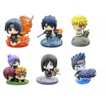 Petit Chara Land NARUTO Shippuden Kuchiyose! Naruto to Akatsuki Hen Part.2 Set of 6 Megahouse