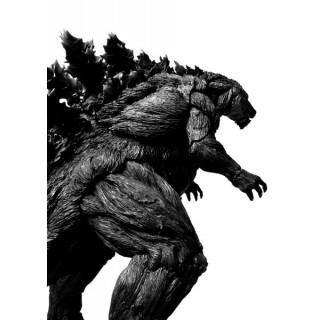 S.H.MonsterArts Godzilla (2017) Initial Production Limited Edition Bandai