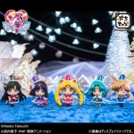 Sailor Moon Petit Chara Christmas Special (Warriors of Outer Solar System Ed.) set of 5 Megahouse Limited