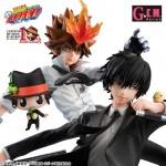 G.E.M Series Kateikyoushi Hitman Reborn ! Set Sawada Tsunayoshi & Hibari Kyouya Megahouse Limited With BONUS