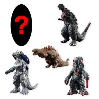 Godzilla Shinshi Taizen Set of 10 CANDY TOY Bandai