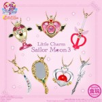 Sailor Moon Little Charm Sailor Moon Part.3 Set of 10 CANDY TOY Bandai