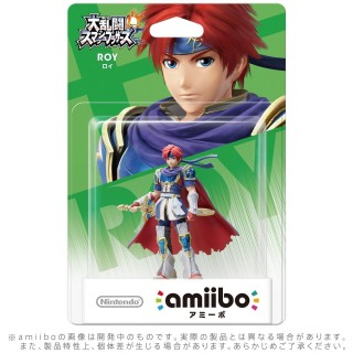 Nintendo 3DS Wii U Amiibo Roy Roi Super Smash Brothers