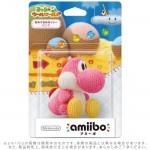Nintendo 3DS Wii U Amiibo Amigurumi YOSHI Pink Wool