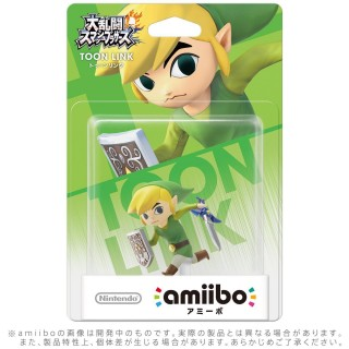 Nintendo 3DS Wii U Amiibo Toon Link Super Smash Brothers