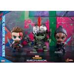 CosBaby Thor : Ragnarok Size S Thor & Hulk (Gladiator/Metallic) & Valkyrie 3Item Set Hot Toys