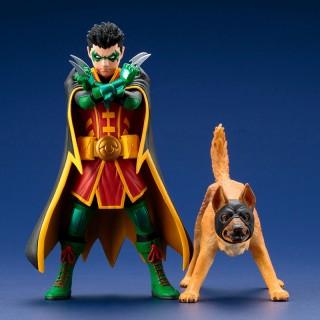 ARTFX+ DC COMICS REBIRTH Super Sons: Robin & Bat-Hound 2Pack 1/10 Kotobukiya