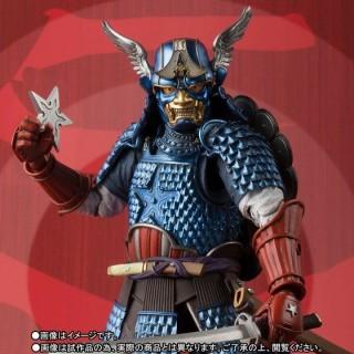 Meishou Manga Realization Samurai Captain America Bandai Limited