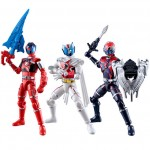Uchu Sentai Kyuranger Yuudou Set of 10 Candy Toy Bandai