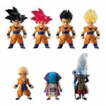 Dragon Ball Adverge 5 Set of 10 Candy Toy Bandai