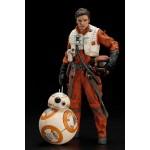 ARTFX+ Star Wars The Force Awakens Ver. Poe Dameron and BB-8 1/10 Kotobukiya