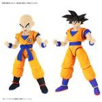 Figure-rise Standard Dragon Ball Z Son Goku and Krillin DX Set Model Kit Bandai