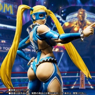 SH S.H. Figuarts Street Fighter V Rainbow Mika Bandai Limited