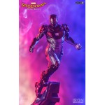 Spider-Man Homecoming Iron Man Mark 47 1/10 Battle Diorama Series Art Iron Studios