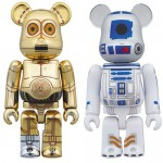 BEARBRICK Star Wars C-3PO & R2-D2 Set of 2 Medicom Toy