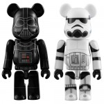 BEARBRICK Star Wars DARTH VADER & STORMTROOPER Set of 2 Medicom Toy