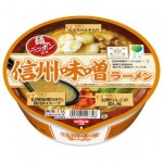 Japanese Cup Noodle Shinshu miso ramen taste