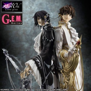 G.E.M Series Code Geass R2 CLAMP works in Lelouch & Suzaku Megahouse Limited