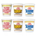 Japanese Cup Noodle assortment set