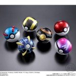 Pokemon Ball Collection ULTRA Box of 10 CANDY TOY Bandai