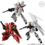 Mobile Suit Gundam G Frame Box of 10 CANDY TOY Bandai