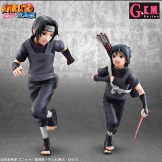 G.E.M Series Naruto Shippuden Uchiha Itachi & Sasuke Megahouse limited