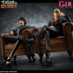 G.E.M. series TIGER & BUNNY SOC (Sit On Chair) set of Kotetsu T. Kaburagi & Barnaby Brooks Jr. Megahouse Limited
