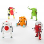 Tiny Mechatro WeGo Box of 10 Sentinel