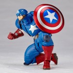 Figure Complex Amazing Yamaguchi No.007 Captain America Kaiyodo