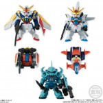 FW GUNDAM CONVERGE SELECTION (LIMITED COLOR) Box of 8 Bandai